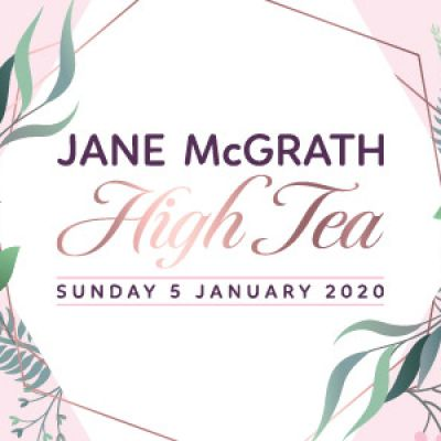Jane McGrath High Tea 2020
