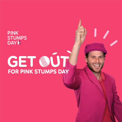Pink Stumps Day